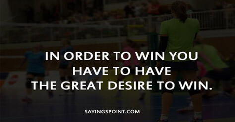 volleyball inspirational sayings
