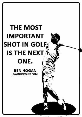 65 Funny Golf Quotes and Sayings Sayings Point