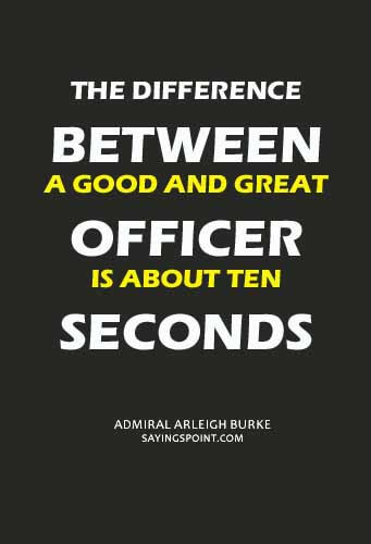 Navy Officers Sayings