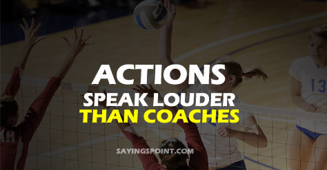 90 Inspirational Volleyball Quotes and Sayings Sayings Point