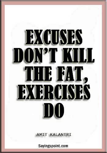 Funny Gym Sayings
