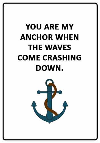 53 Anchor Quotes and Sayings Sayings Point